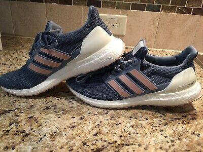 7a6aa98309f98 Wmns Adidas Ultra Boost 4.0 Womens Sz 11 Raw Grey Blue White BB6493  Ultraboost