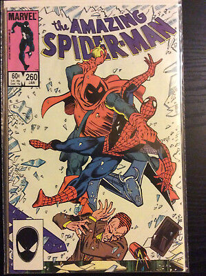 Amazing Spiderman #260 Very Fine to Near Mint (White Pages)