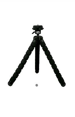XS Xsories Big Bendy Flexible Tripod w/ GoPro Mount Aluminum Baseplate  - Black