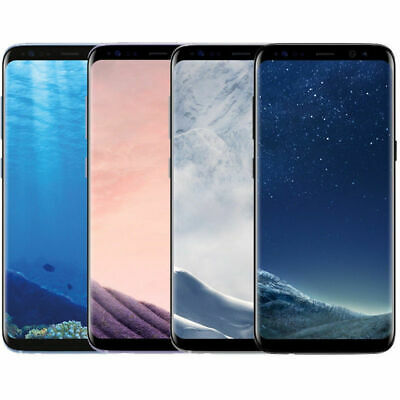 Samsung Galaxy S8 SM-G950U (Factory Unlocked) G950 GSM SmartPhone AT&T T-mobile