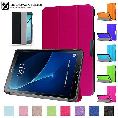 """Samsung Galaxy Tab S2 9.7"""" Inch Leather Magnetic Case Smart Slim Stand Cover"""