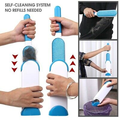 Pet Fur Lint Remover Cleaning Clothes Brush Hair Cat Dog Fur Dust Magic Brusher