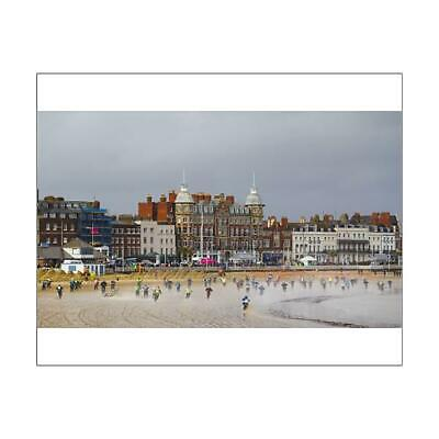 "13108548 10""x8"" (25x20cm) Print of Motocross on Weymouth Beach"