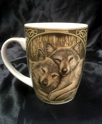 Lisa Parker Loyal Companions Bone China Mug Cup With Gift Box New