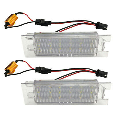 12V 18 LED License Number Plate Light For OPEL ZafiraB ASTRA CORSA Insignia QAF