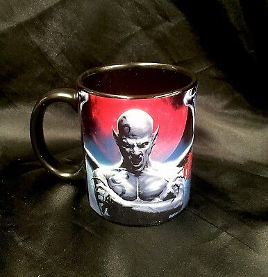 "Designer Tom Wood Ceramic Coffee Mug "" Blood Moon"" Halloween Vampires"