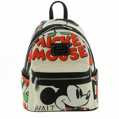 d2923a723fb DISNEY PARKS LOUNGEFLY Mickey Mouse Club Mini Backpack Purse ...