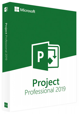 Microsoft Project Professional 2019 License Key (bind to your Microsoft account)