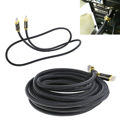 Premium Braided HDMI Cable 3D 28AWG v2.0 4K Full HD Specification 1M / 10M