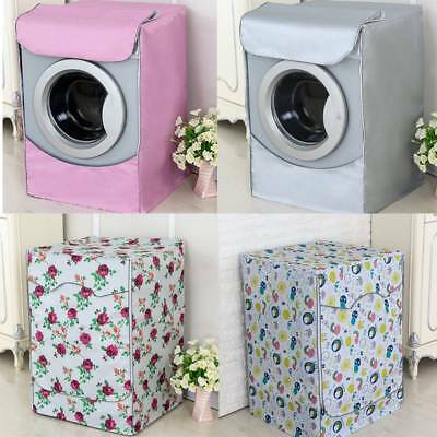 Waterproof Washing Machine Zippered Dust Cover Top / Front Dustproof Protector