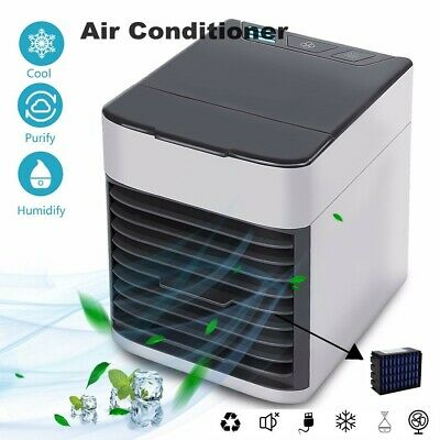 AU NEW Portable Mini Air Conditioner Cool Cooling For Bedroom Cooler Fan Cooler