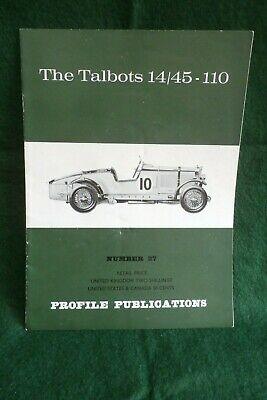 Profile publications No.27, The Talbots 14/45-110