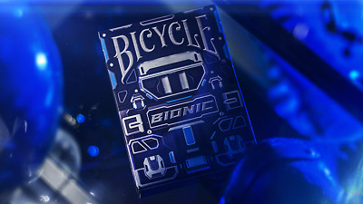CARTE DA GIOCO BICYCLE BIONIC,poker size