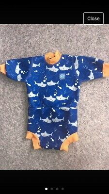 Splash About Happy Nappy Wetsuit - Large (6-14Months) UPF 50+