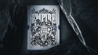 CARTE DA GIOCO EMPIRE BLOODLINES ROYAL BLUE EDITION,poker size