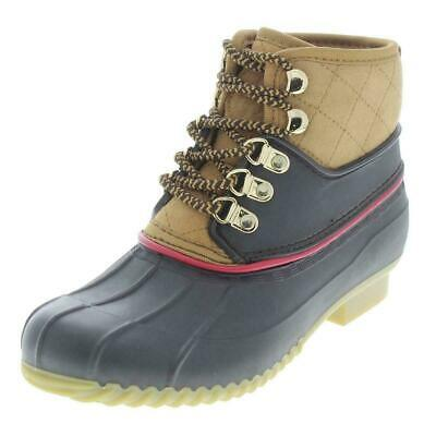 752b0dbf794b TOMMY HILFIGER RINAH Rain Boots Dark Brown 6M NEW -  55.99