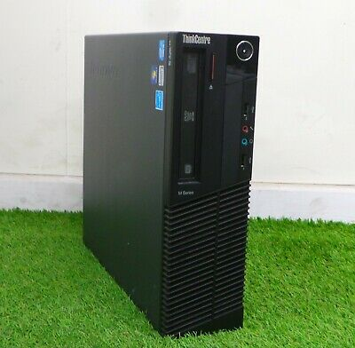 Lenovo ThinkCentre M82 SFF PC Quad i5 3470 3.2GHz 4GB RAM 500GB HDD Windows 10 N