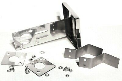 tow pin cover stainless steel adjustable metal mount Kenworth bumper hole each