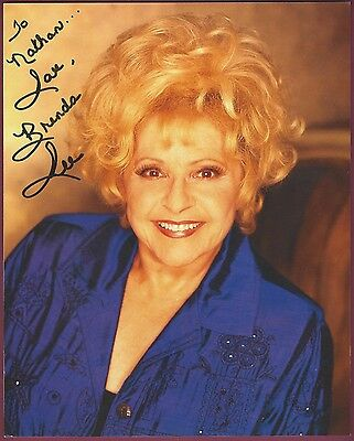 """Brenda Lee, Country Singer, Signed 8"""" x 10"""" Color Photo, COA, UACC RD 036"""