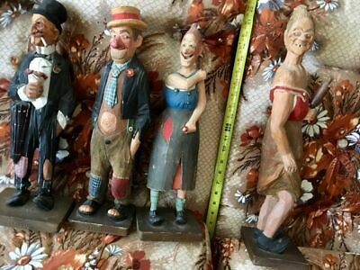 Trygg Family Wood Carving Vintage Collection-All 40 Figures
