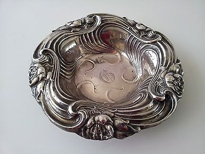 Antique Sterling Silver Dish Bowl stamped 6421