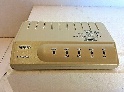 Adtran T1 Csu Ace, 2Nd Generation P/N 1202022L1