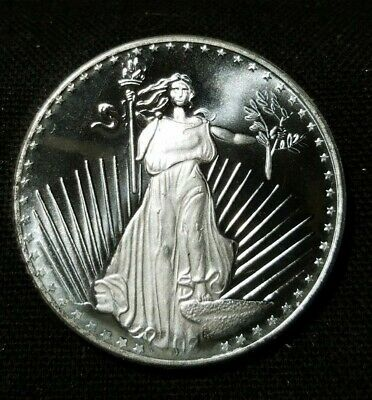 """SilverTowne One Troy Ounce .999 Fine Silver Round  """" We Combine Shipping """""""