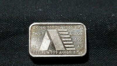"""One Troy Ounce .999 Fine Silver Bar  """" We Combine Shipping """""""