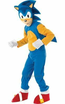 Sonic The Hedgehog Childrens Fancy Dress Costume Party Outfit SALE Kids Licensed