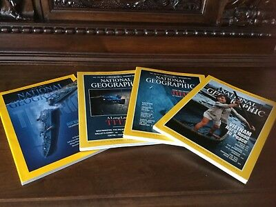 National Geographic Titanic - Bismarck Special Set - 4 issues