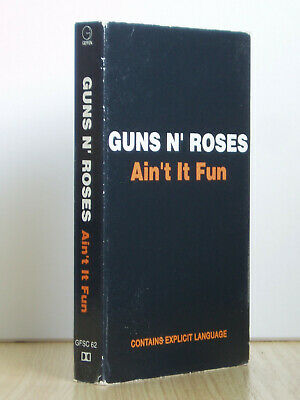 Guns N' Roses - Ain't It Fun - Cassette Tape