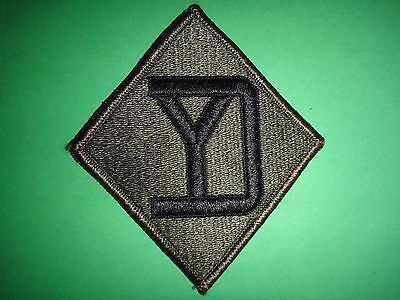 26th Infantry Division Army Patch merrowed edge