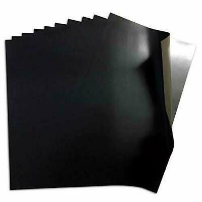 4 x Flexible Magnetic Sheets A4 x 0.4 mm Self Adhesive 300 MM X 214 MM FREE POST