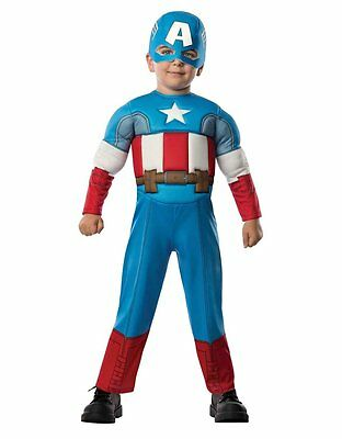 Kids  Captain America Costume Toddler Age 1-2 Height  88-99 cm