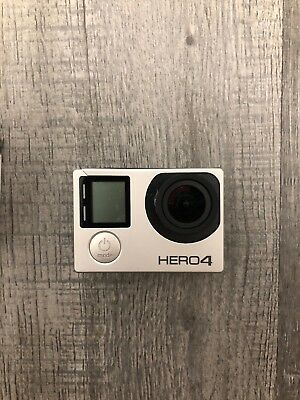 Gopro Hero 4 Silver Plus Waterproof Case And 64gb Micro SD Card