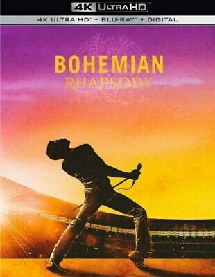 Bohemian Rhapsody 4K Disk ONLY With Case, Cover & Slipcover