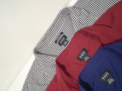 a65afbf9 LOT OF 3 Harbor Bay Men's Shirts Size 5XL Button Up S/S Blue Polo ...