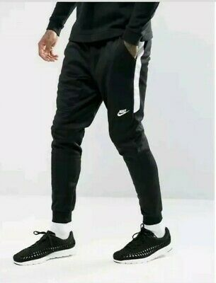 6dbd234bffc3 Nike Tribute Pants Joggers Slim Track Black white Men s 2Xl New 884898-010  Tech