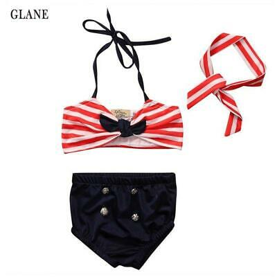 Cute girls swimwear baby kids bikini swimsuit bikini girl New summer bathing sui