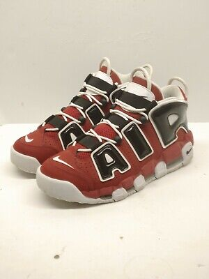 hot sale online e19ac 06c5b Nike Air More Uptempo  96 Chicago Bulls Red White Black Sz 9.5 921948-600