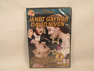 A Star Is Born 1937 / Eternally Yours 1939 DVD Gaynor Niven NEW SEALED