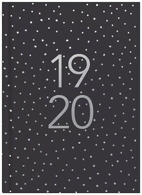 2019-2020 Financial Year Diary Milford Fashion A5 Day to Page 441587 Dots