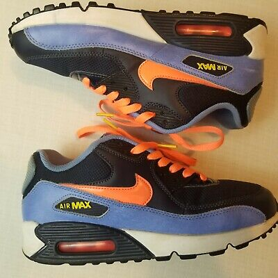 NIKE AIR MAX 90 Youth 6.5 Women's 8 CamoNeon Green Great