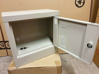Security Steel Enclosure with Lockable Door | Box Cabinet Safe Storage