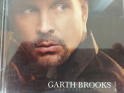 GARTH BROOKS - The Ultimate Hits Deluxe Edition 2 x CD + DVD 2007 Sony Exc Cond!
