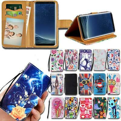 Flip Leather Smart Stand Wallet Cover Case For Various Samsung Galaxy J7