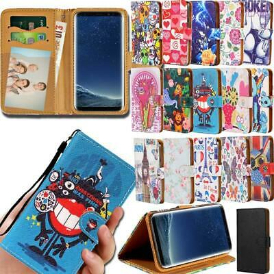 Flip Leather Smart Stand Wallet Cover Case For Samsung Galaxy A 3/5/7/8/9