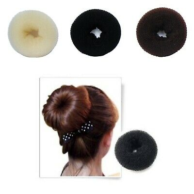 Bun Maker Hair Mesh Chignon Donuts Making Beautiful Easy Style Braid Ponytail