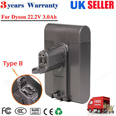 Type B Vacuum Cleaner Battery For Dyson DC31 DC44 Animal DC45 DC35 22.2V 3.0Ah