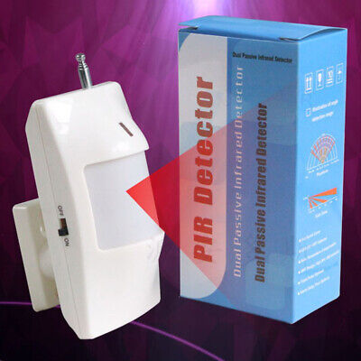 Wireless passive infrared detector PIR motion sensor for security alarm systemJC